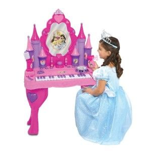 Princess Enchanted Keyboard Vanity 6 Musical Instruments & Accessories