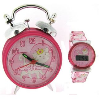 Princess Girls Digital Watch & Alarm Clock Xmas Gift Set For kids BV16