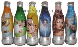 Coca Cola Coke Light Argentina Andy Cherniavsky Bottles RARE