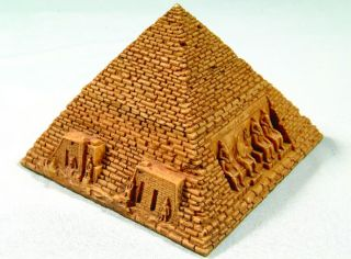 Egyptian Pyramid Trinket Jewelry Box w Eye of Horus New