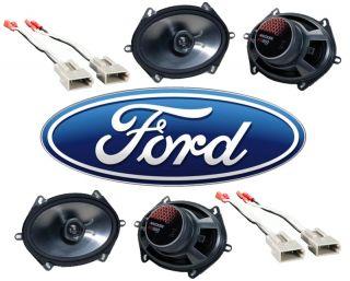 New Kicker Ford Explorer 91 97 2 KS680 Factory Upgrade Coaxial Speaker