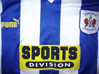 Kilmarnock Football Jersey Shirt Soccer Puma L 1998 1999 Scotland Vtg