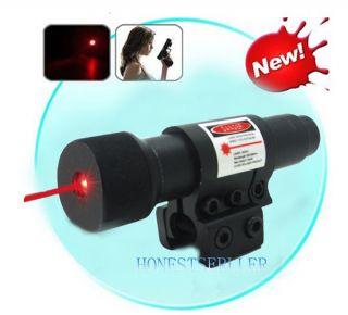 650nm Red Laser Gun Optics Sight for Pistols Gun Weaver Mount Red Dot