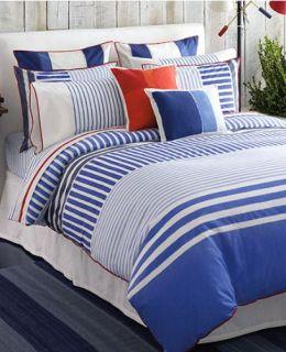 Tommy Hilfiger Mariners Cove Blue Canvas Euro Pillowsham NP
