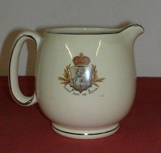 lovely jug commemorating the coronation of King Edward VIII in 1937