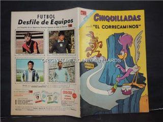 Chiquilladas 234 El Correcaminos The Road Runner Novaro Mexican Comic