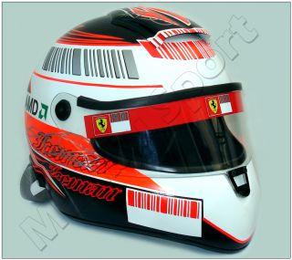 Kimi Raikkonen F1 2007 Schuberth RF1 Replica Helmet Scale 11. Real