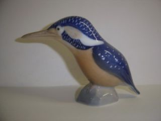 Royal Copenhagen Porcelain Kingfisher Figure Model Number 3234