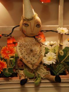 New Bethany Lowe Kim Kohler Folk Art Uncle Sam Doll AMKK9724 Free SHIP