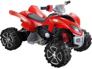 New Kids Battery Powered Electric ATV Red Ride on Childrens Bike Toy