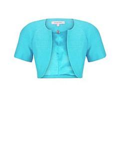 Jacques Vert Turquoise bolero Blue