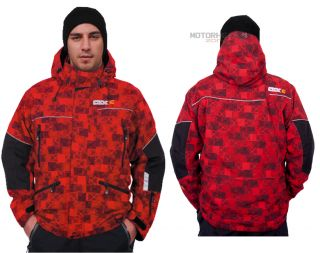 CKX Summit Jacket Men Large Black Red Kimpex High Tech Membrane