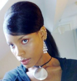 14Kinky Straight Full Lace Wig Human HairColour Choice
