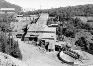 Silver King Mining Company Ore Mill Park City West UT 1971 Photo