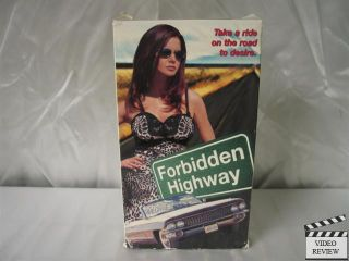 Forbidden Highway VHS Kira Reed Kelley Cauthen