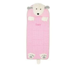 Pottery Barn Kids New Shaggy Dog Sleeping Bag Pink