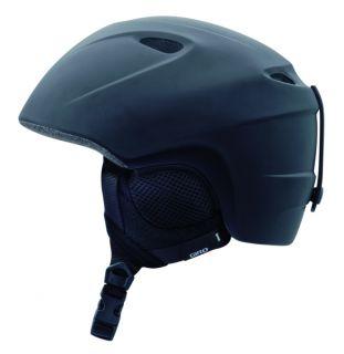 Slingshot Matte Black Kids Snowboard Ski Helmet Child Youth
