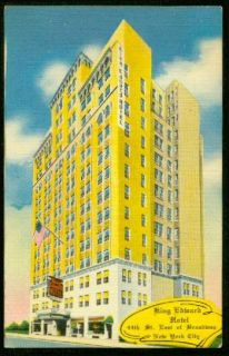 1950 King Edward Hotel   The City of Times Square USA Everybodys