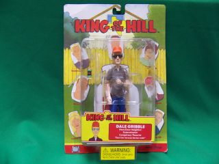 King of The Hill Dale Gribble Action Figure