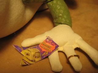Dreamworks SHREK 3 (KING HAROLD the FROG) 12 Stuffed PLuSH DOLL *NwT