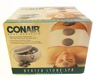 Heated Stone Spa Relaxation Therapy Hot Rocks Body Massage System NIB