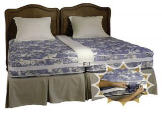 King Bed Combine Two Twin Beds Into A Secure Comfortable King Size Bed