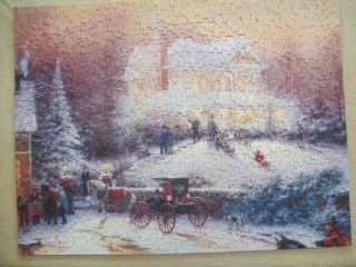 Springbok Thomas Kinkade Victorian Christmas II 500 Piece Puzzle