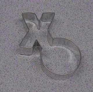 XO Hug Kisses Cookie Cutter 4