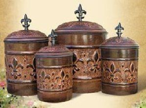 Tuscan Kitchen Canisters On Popscreen