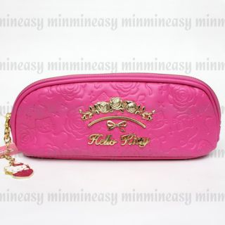 Sanrio Hello Kitty Luxury Long Bag Case Cosmetic Pencil