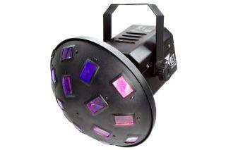 Chauvet LED Mushroom Spinning Multi Color Light Fixture