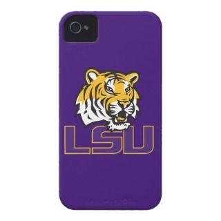 LSU Primary Athletic Mark iPhone 4 Case Mate Cases