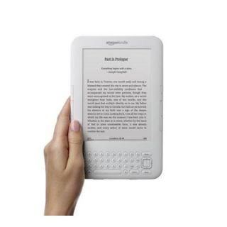 Kindle 6 inch Wireless Reading Device Wi Fi 3G Whie