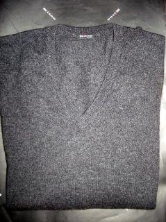 KITON Napoli Sweater DarkGray 100 Cashmere Size 40 R 50 Euro Size New