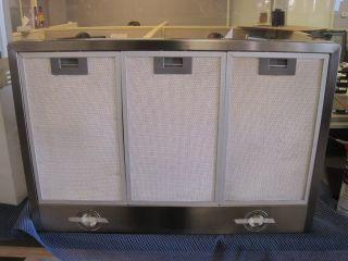 Standard Stainless Steel Kitchen Exhaust Wall Fan 30B Stock B