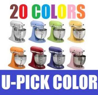 Artisan 5 Qt Stand Mixer KSM150PS All Colors Tilt Head 325Watt