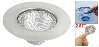 Stainless Steel Wire Mesh Kitchen Sink Basin Drain Strainer