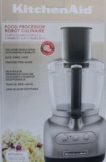 New KitchenAid 7 Cup Food Processor Stainless Steel Blade Prep Slicer