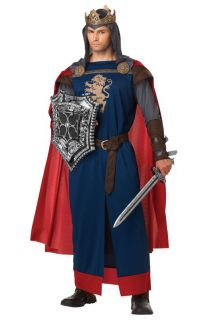 Richard The Lionheart King Adult Costume Medieval Knight
