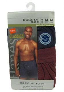 Classics Comfort Soft Waistband Tagless Knit Boxer Underwear