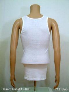 PROCLUB mens A shirts Tank Tops Undershirts WHITE PRO CLUB S   7XL
