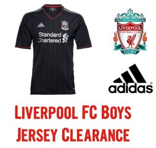 LIVERPOOL FC Adidas Boys Kids Junior Away Jersey Shirt Soccer Football