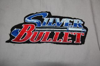 Silver Bullet Knotts Berry Farm Gray Short Sleeve Button Down Shirt