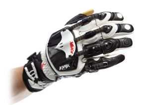 Knox Hand Armor Gloves Handroid Pod Black White