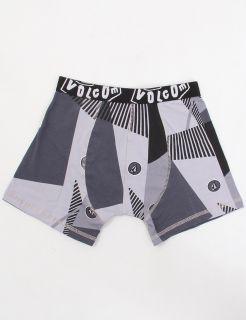 Volcom Cut Knit Boxer Briefs Grey