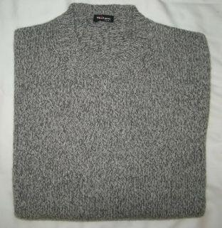 KITON Napoli Sweater DarkGray Salt Pepper 100 Cashmere Size 38 R 48EU