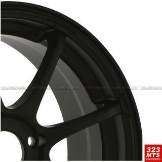 Cyon Civic Wheels Konig Feather 4x114 3 Black Wheels 1 Set 4 PC