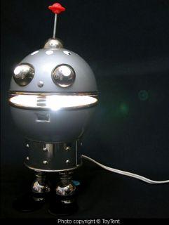 Robot Light Torino Style Tabletop Lamp Functional Art