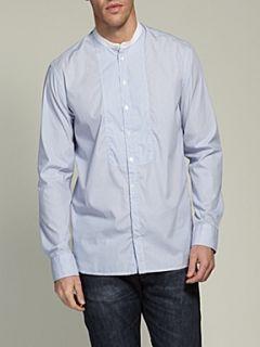 Farrell Mens bengal striped shirt White