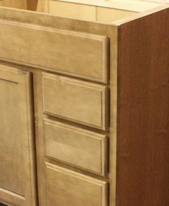 Kraftmaid Maple Bathroom Vanity Sink Base Cabinet 30 Granite Tops in